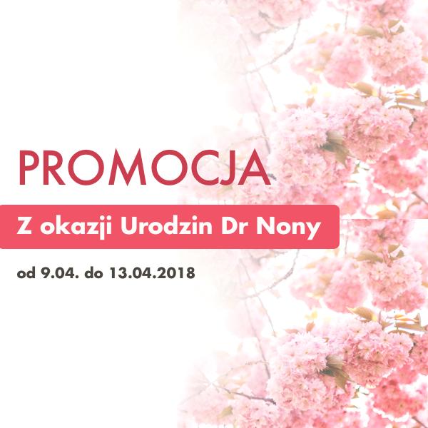 Promocja z okazji urodzin Dr Nona!