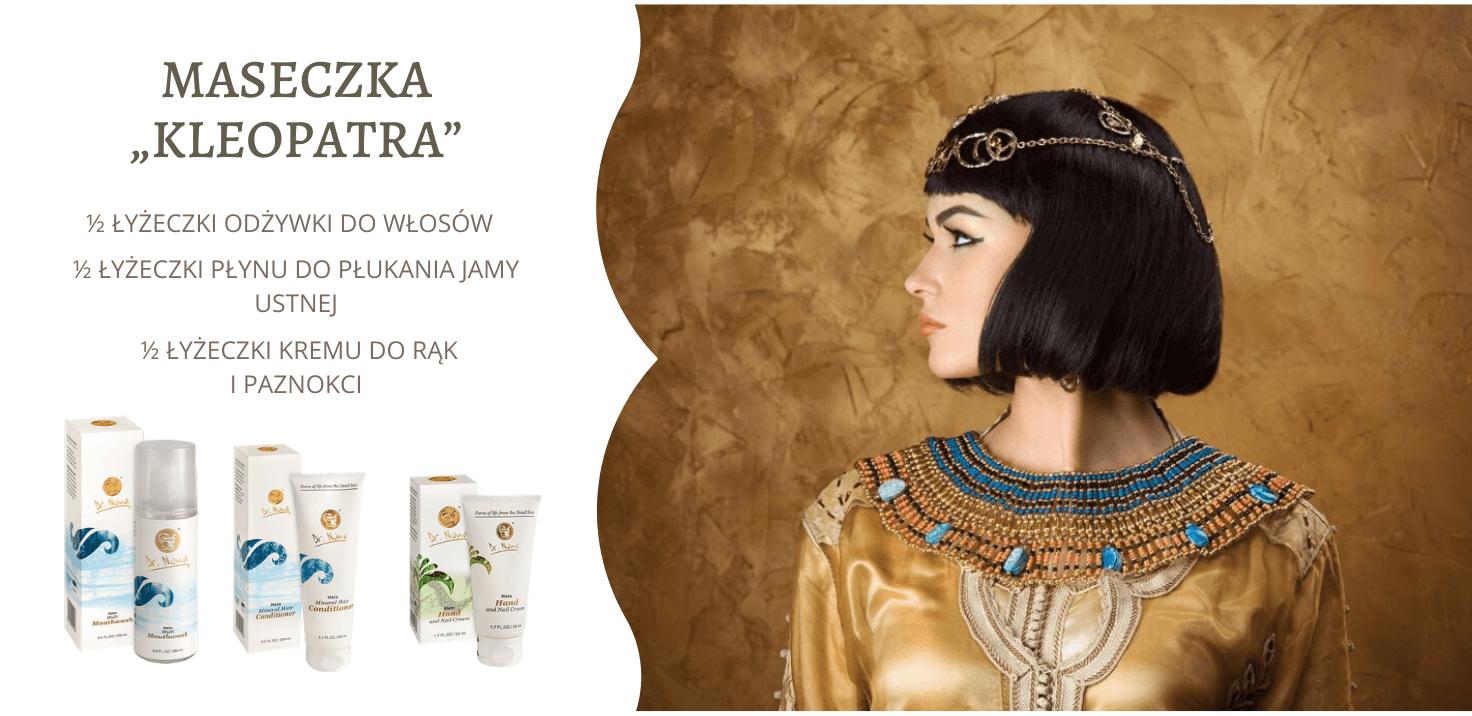 Maseczka Kleopatra