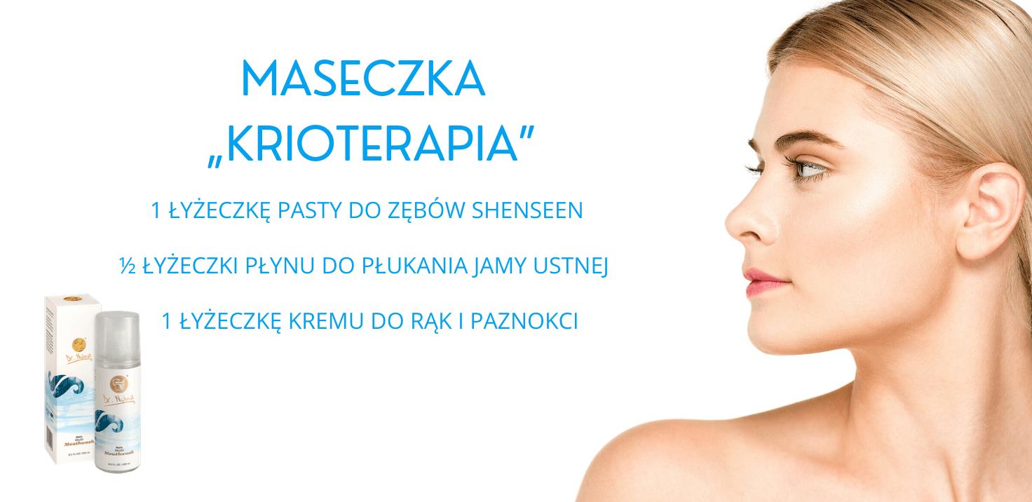 Maseczka Krioterapia